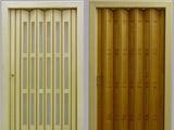 Dřevěné shrnovací dveře - prosklené i plné